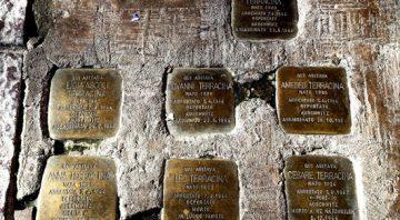 Ricordo della Deportazione della Famiglia Terracina